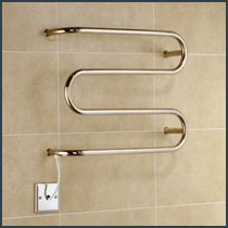 Dry Electric Heated Towel Rails