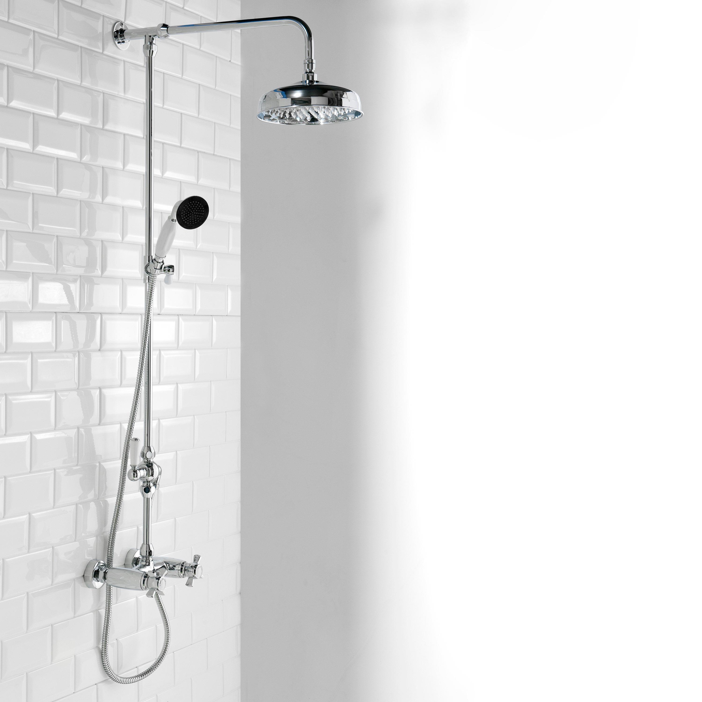 Damson Traditional Mixer Shower Set - Heat & Things