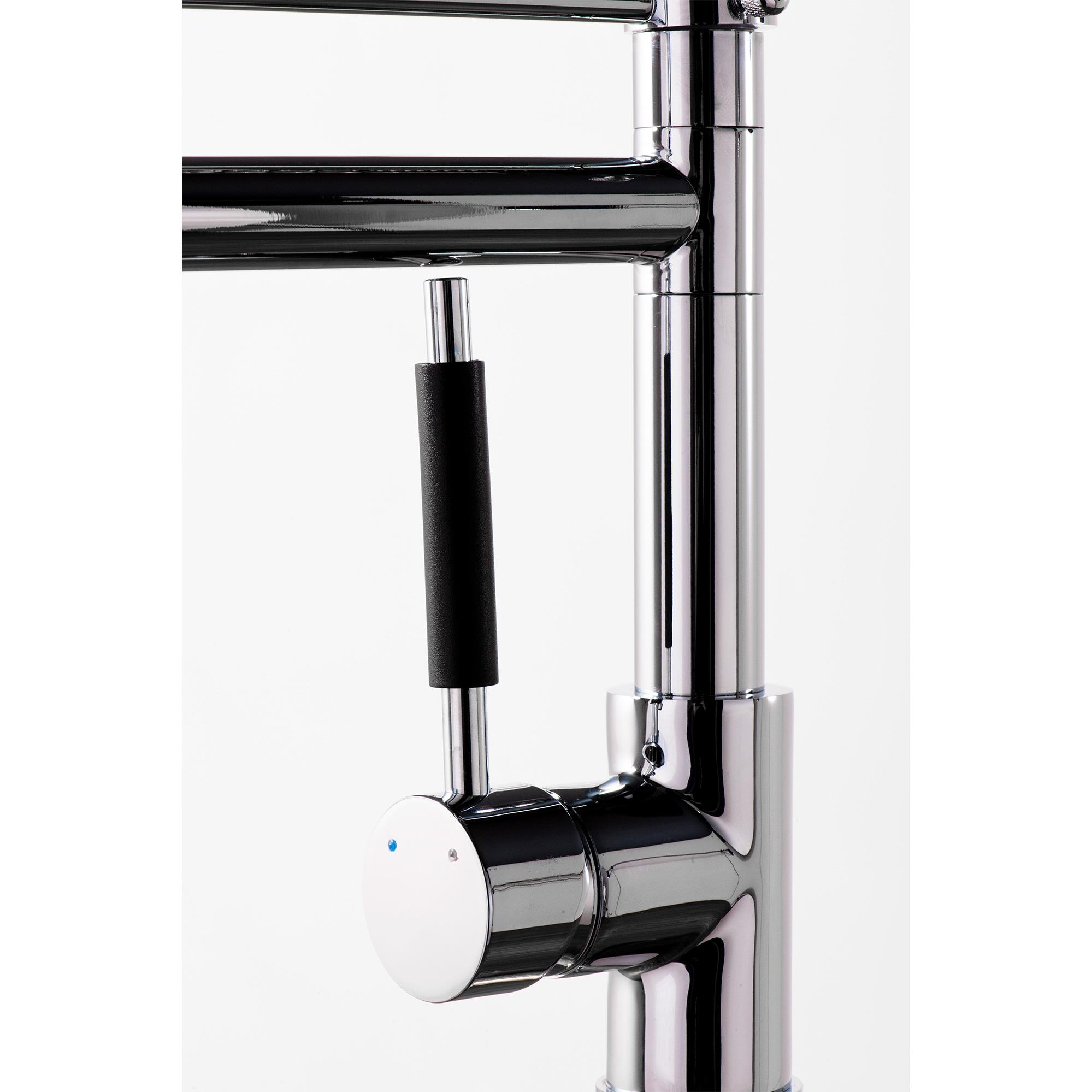 Modern kitchen monobloc mixer tap with flexible pull out for Modern kitchen taps