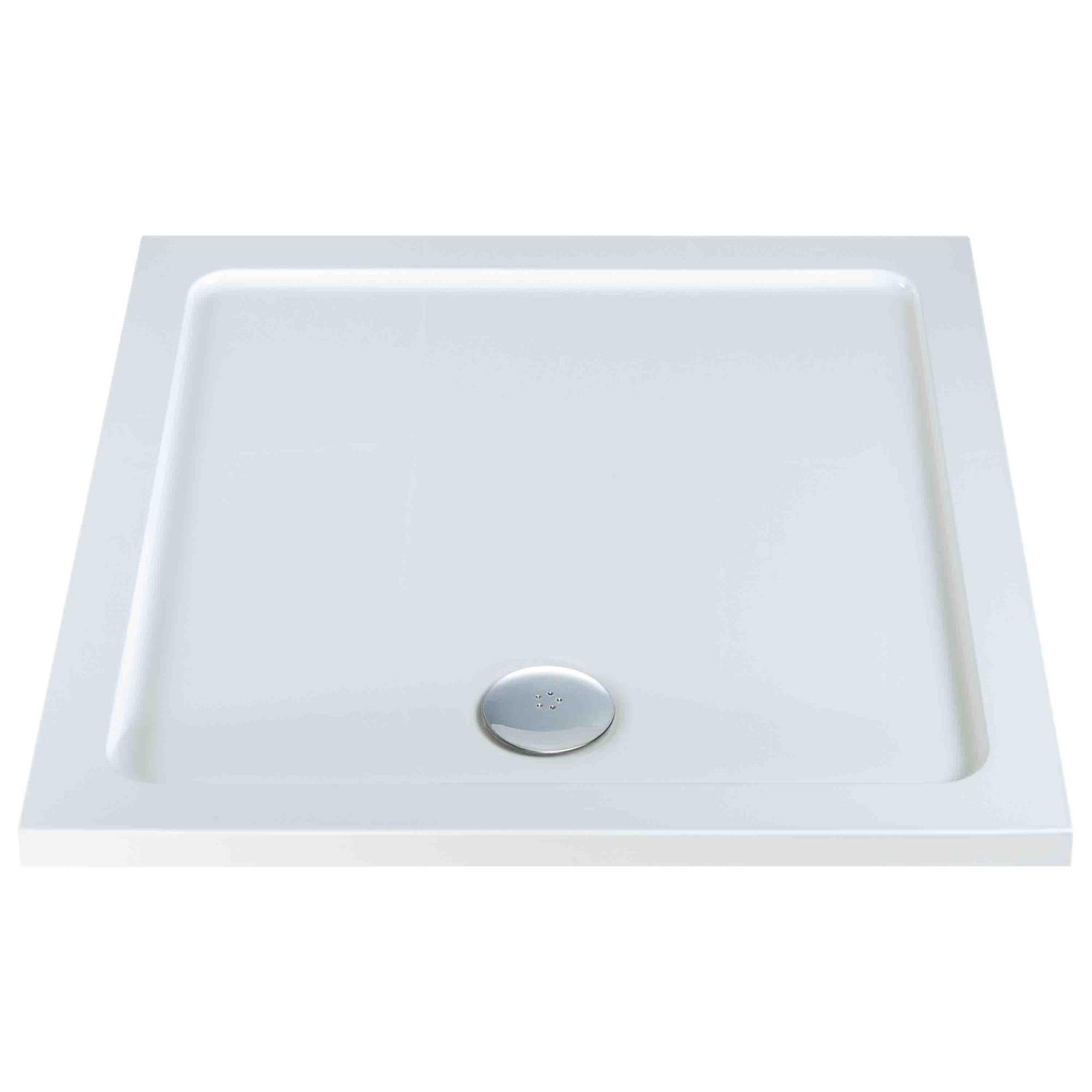Fresssh Square Shower Trays with Waste - Heat & Things