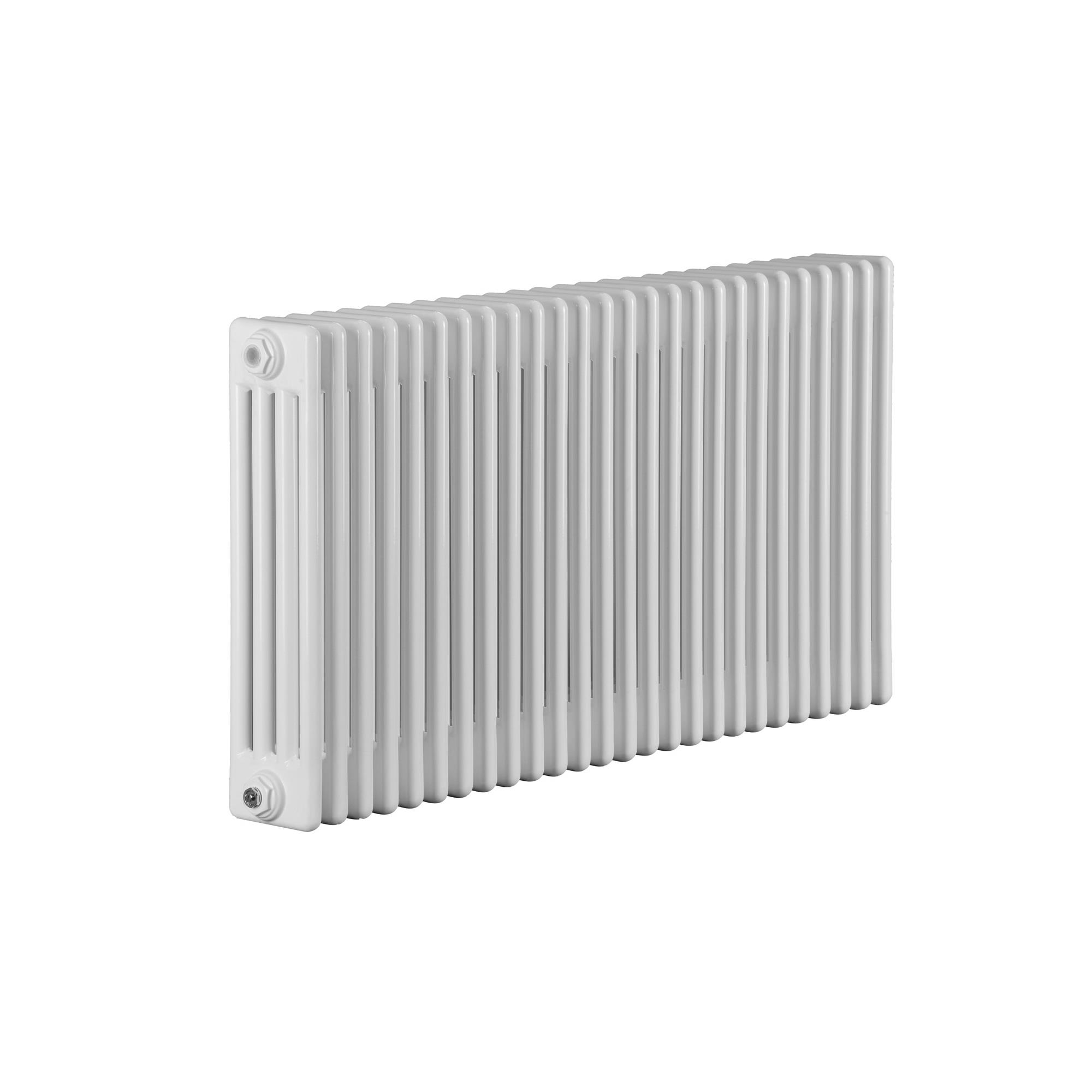 Traditional White Electric 4 Column Radiators 600mm High Heat Things
