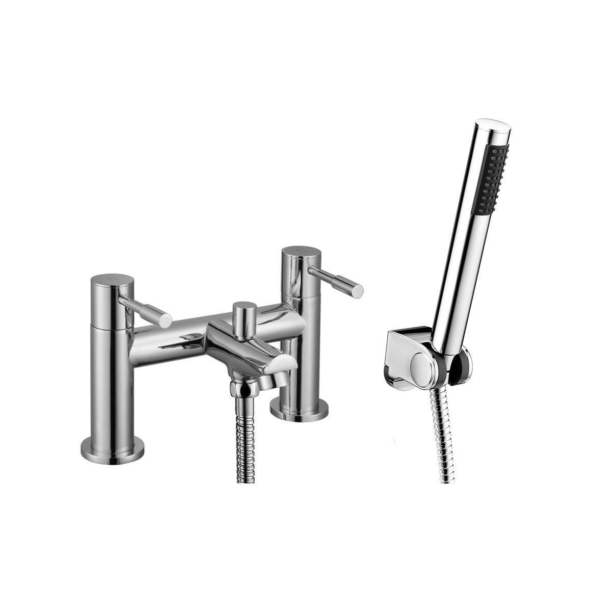 Primo Bath Shower Mixer Tap Chrome - Heat & Things