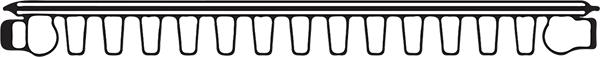 Type 11 Radiator diagram