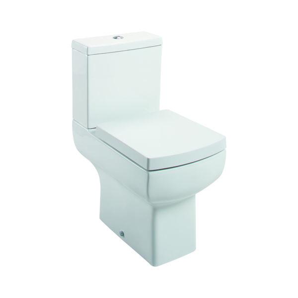 Daisy Lou Close Coupled Pan, Cistern & Seat
