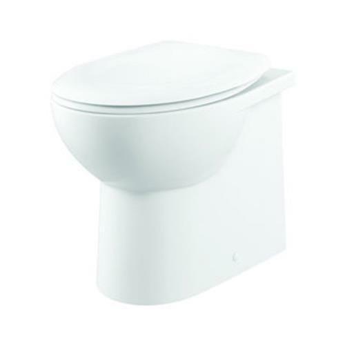 Fresssh Georgia Plus Flush to Wall Toilet Pan w/Seat