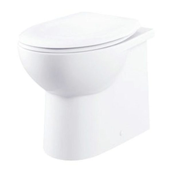 Fresssh Georgia Plus Back-to-Wall Toilet Pan with Soft Close Seat