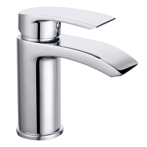 Elem Mono Basin Mixer with Clicker Waste