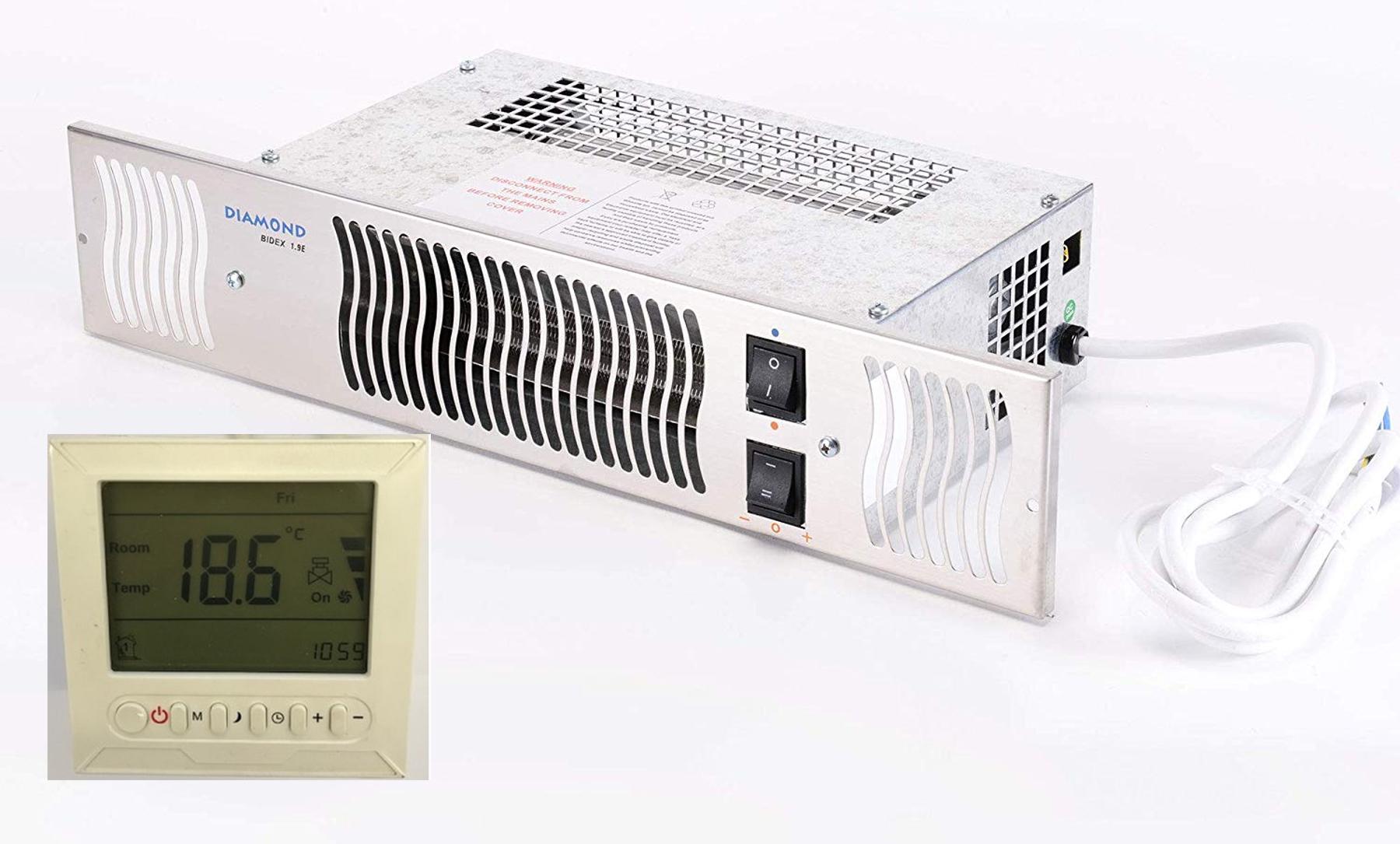 Diamond Electric Kitchen Plinth Heater