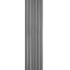1800 H x 452 W Electric Single Panel Anthracite Vertical Flat Tube Radiator