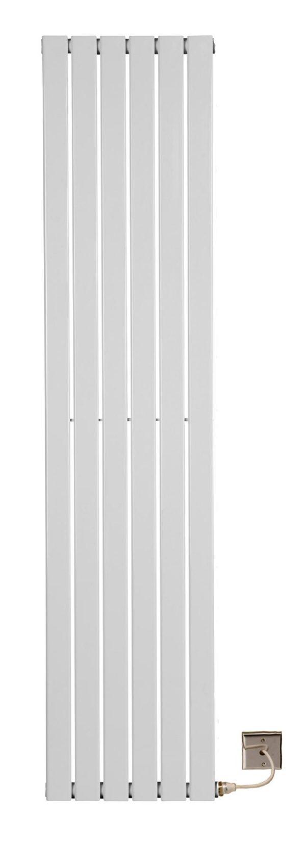 Tamar Electric Vertical Flat Tube Single Panel Radiators 1800mm high