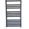 Algarve Anthracite Electric Flat Tube Heated Towel Rails